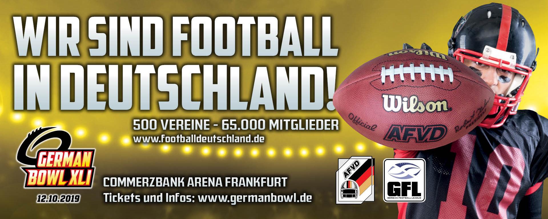 Wir sind Football in Deutschland